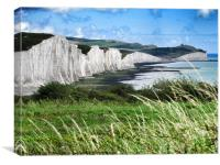 Those Glorious Seven Sisters, Canvas Print