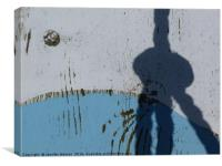 Knotty shadow, Canvas Print