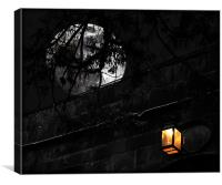 Moon-LIGHT, Canvas Print