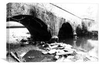 BurrsparkBridge, Canvas Print