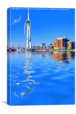 Spinnaker Reflections, Canvas Print