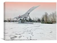 Heathrow Concorde - Brooklands Museum, Canvas Print