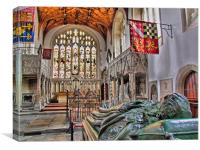 The Fitzalan Chapel - Arundel Castle 2, Canvas Print