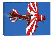 The Pitts Special, Canvas Print