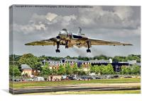 Vulcan To The Skies Landing - Farnborough 2014, Canvas Print