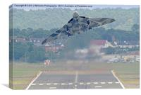 Vulcan To The Skies - Farnborough 2014 1, Canvas Print