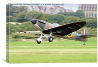Guy Martin`s Spitfire 3, Canvas Print