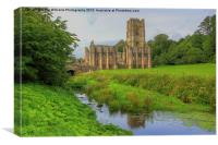 Fountains Abbey Yorkshire 2, Canvas Print