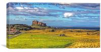 Bamburgh Castle 1, Canvas Print