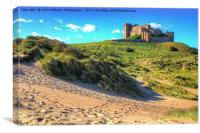 Bamburgh Castle 2, Canvas Print