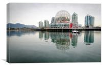 SCIENCE WORLD telus world of science vancouver bc , Canvas Print