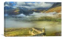 Langdale, Lake District, Canvas Print