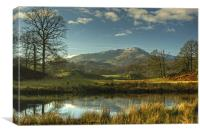 Brathay Views, Canvas Print