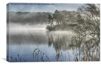 Windermere Mist, Canvas Print