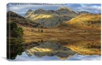Blea Tarn, Lake District, Canvas Print