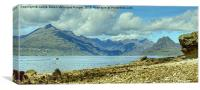 The Cuillins of Skye, Canvas Print