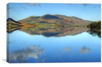 Crummock Water and Loweswater Fell, Canvas Print