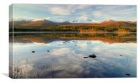 Loch Morlich Scotland, Canvas Print