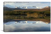 Cairngorm Reflections, Canvas Print