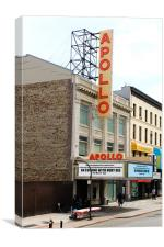 The Apollo Theatre, Canvas Print
