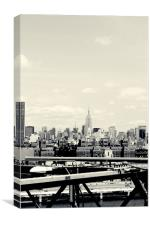 Empire State, Canvas Print