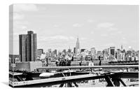 Midtown Manhattan, Canvas Print