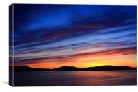 Closing Of The Day , Canvas Print