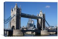 Tower Bridge, London, United Kingdom , Canvas Print