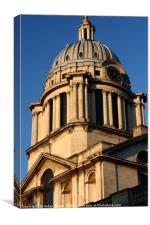 Old Royal Naval College, Greenwich, London  , Canvas Print