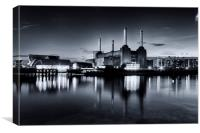 Battersea Blues, Canvas Print
