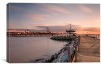 Herne Bay Sunset, Canvas Print
