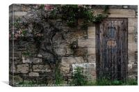 A Door to the Past, Canvas Print