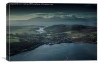 Rothesay, Bute and the Isle of Arran, Canvas Print