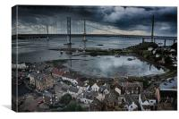 North Queensferry , Canvas Print