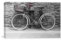 Old Bicycle, Canvas Print