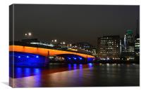 London Bridge, Canvas Print