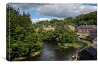 New Lanark, Scotland, Canvas Print