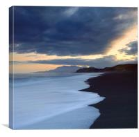 Kekerengue Sunset, Kaikoura, NZ, Canvas Print