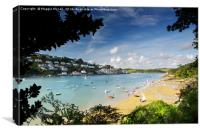 Salcombe Estuary, South Devon, Canvas Print