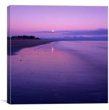 Tahunanui Sunrise, Nelson, New Zealand., Canvas Print