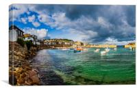Mousehole, Cornwall., Canvas Print