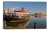 MERSEY FERRY BOAT (Royal Iris ), Canvas Print