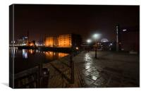 """Albert Dock"" (Liverpool), Canvas Print"