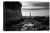 Perch Rock (Different Take), Canvas Print