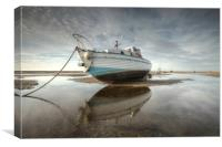 """Reflections on the Estuary"", Canvas Print"