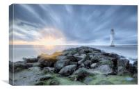 Fort Perch Rock Lighthouse, Canvas Print