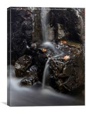 Cat Gill Falls, Canvas Print