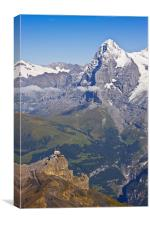 The Eiger Nordwand, Canvas Print