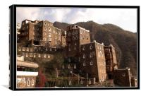 Rijal Alma Houses and Museum, Canvas Print