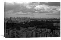 View of Singapore, Canvas Print